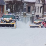 Plows on Main Street